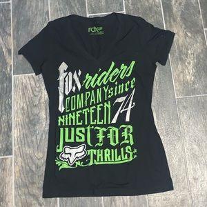 Fox Riders Women's Graphic T-shirt